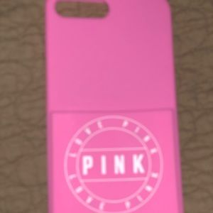 iPhone 7 Plus VS pink case with pocket